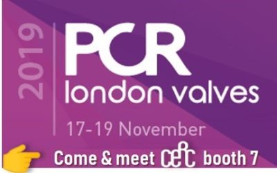 CERC @ PCR London Valves 2019!