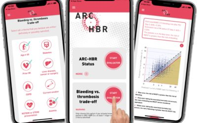 Bleeding vs. thrombosis trade-off: evaluate it on your smartphone